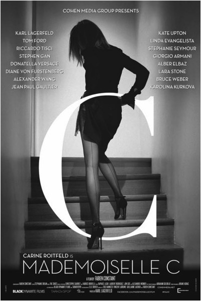 carine roitfeld movie poster