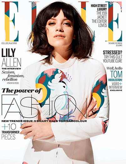 lilly allen cover elle