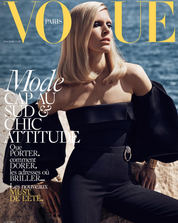 JuneJuly issue of Vogue Paris