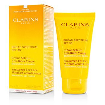Clarins Sunscreen for Face Wrinkle Control Cream 30 SPF