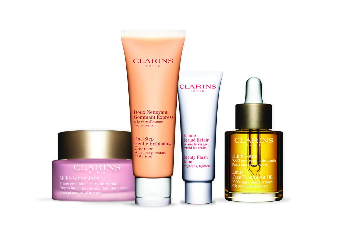 Clarins Holiday Today!